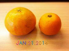 我一直以為2顆都是橘子@_@