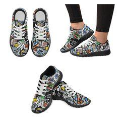 Sneakers Cartoon Sneakers, Creations, Cartoon, Men, Purse, Tennis, Slippers, Sneaker, Cartoons