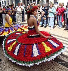Bloguetomar: Festa da Flor na Madeira