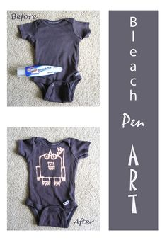 Personalize & decorate baby clothes