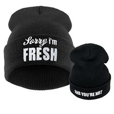 Black Beanie Hats, Hip Hop Knit Skull Beanie Hats for Wen/men, Winter Hip Hot Knit Cap Beanie Skull Hat
