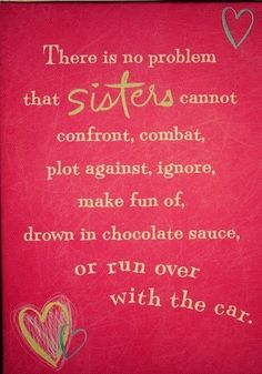 Sisters quote