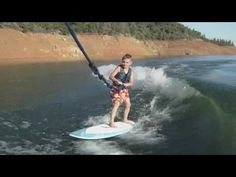 How to Wakesurf 101 - Get the Kid's Wakesurfing Lake Life, Wakeboarding, Water Sports, Good Vibes, Boating, Summertime, Surfing, Sky, Raising Kids