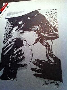 Prussian love by Leviathan ••• #design #creative #create #poster #graphic #vintage #diseño #lifestyle #rockNroll #psychobilly #art #rockabilly #hotrod #motocicletas #bikers #cartel