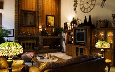 Country style with wood decoration