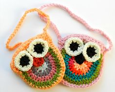 Love these Crochet Owl Purses from Grow Creative.