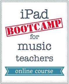 iPad Bootcamp online course for music teachers: learn how to use the iPad creatively in your music classroom. Online course presented by Katie Wardrobe, Midnight Music http://www.midnightmusic.com.au/ipads-in-music-education-create-perform-learn/