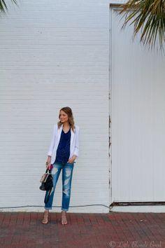 Perfectly Distressed… #style #fashion #denim #heels