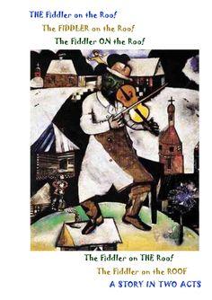 83 Best Fiddler On The Roof Images Fiddler On The Roof