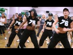 Love this Zumba routine! Great for the arms. Add light dumbbells for more intensity