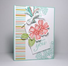 Perry Papercrafts: Sweet Blossoms for Paper Players