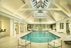 Luxe indoor pool.