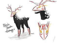 Image - Grimm deer.jpg - RWBY Fanon Wiki - Wikia