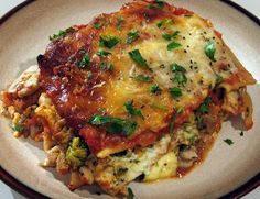 ... Love of Cooking » Lasagna with Turkey Italian Sausage and Vegetables