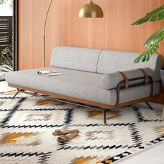 Get inspired by Mid-Century Living Room Design photo by Old Soul Decor. AllModern lets you find the designer products in the photo and get ideas from thousands of other Mid-Century Living Room Design photos. Sofa Furniture, Living Room Furniture, Modern Furniture, Furniture Design, Sofa Bed Design, Antique Furniture, Furniture Dolly, Luxury Furniture, Furniture Ideas