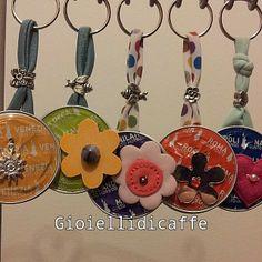 #gioiellidicaffe #portachiavi #bijoux #bialetti #bialettimoustache #colori…