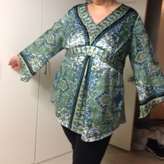 Beautiful satiny top Loooove this top super sexy. Lane Bryant Tops