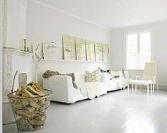 white floor valkoinen lattia