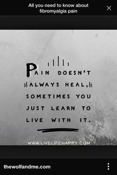 Pain quote Fibromyalgia Pain, Pain Quotes, Need To Know, Healing, Therapy, Quotes About Pain, Recovery