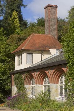 Exterior of Standen, designed by Phillip Webb.