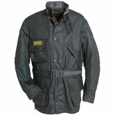 Barbour Black Shadow jacket black