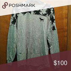 VS PINK CREW OTW Getting this tomorrow! 😍 PINK Victoria's Secret Tops Sweatshirts & Hoodies