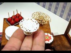Pedestal para pasteles minitura. Base exhibidor para pasteles miniatura. - YouTube