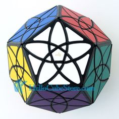 38.94$  Buy now - http://alinjn.shopchina.info/1/go.php?t=32603896132 - New Fashion MF8 Bauhinia Dodecahedron Magic Cube Puzzle Black learning & education toys cubos magicos puzzles very challengin  #aliexpresschina