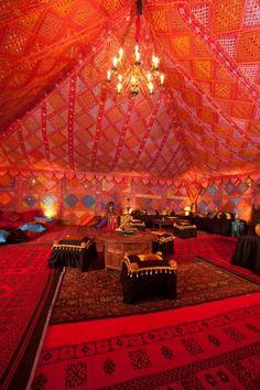 Elképesztő sátor-belső! // Amazing tent interieur!