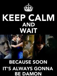 #TVD The Vampire Diaries, it already is Damon! Elena loves Damon, I hope they reunite in season 8 hopefully.. even though I haven't even finished watching season 7.