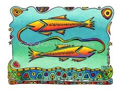 Greeting Card - Pisces