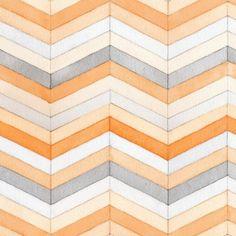 Wayfarers :: Palos Verde by A Creative Mint for Fabrics (Leslie Shewring) Textile Patterns, Color Patterns, Print Patterns, Geometric Patterns, Fabric Design, Pattern Design, Textile Design, Backgrounds Wallpapers, Chevrons