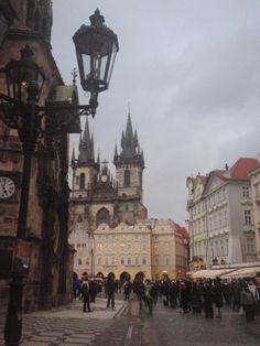 Prague, so dramatic looking.