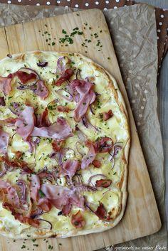 Experimente aus meiner Küche: Kartoffelflammkuchen #ichbacksmir