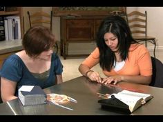 LDS Young Womens Bookmark Ribbon How-to. If you are having trouble figuring out how to put your ribbons in the book mark, this will help.