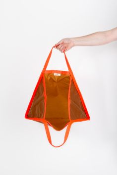 Three Bag by Konstantin Grcic, Amber/Neon – Project No. 8