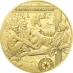 50 Euro Gold Frühstück im Grünen PP
