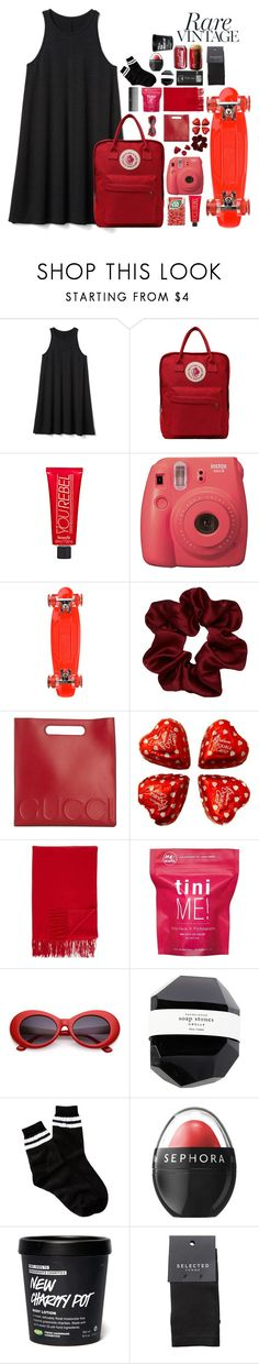 """""""you say I did something bad...."""" by jasperthecat ❤ liked on Polyvore featuring Gap, Benefit, Fujifilm, Sunset Skateboards, Gucci, Barneys New York, Me! Bath, Sephora Collection, Free Press and SELECTED"""