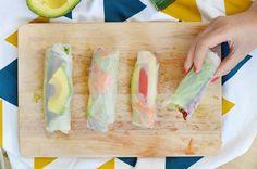 Vous en avez marre de l'éternel sandwich qu'on ressort à chaque pique-nique ? Découvrez monalternative : les rouleaux de printemps ! (vegan, sans gluten)