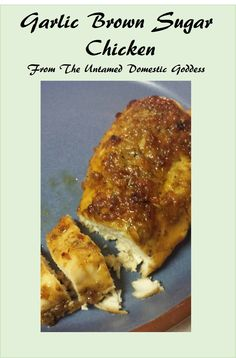 Quick, easy, tasty...and gluten free!  From The Untamed Domestic Goddess