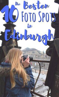 Unsere 10 besten Foto-Spots in Edinburgh Scotland Destinations, Scotland Tourist Attractions, Moving To Scotland, Scotland Travel, Scotland Trip, Glasgow, Scott Monument, Best Beaches In Europe, Edinburgh Travel