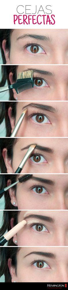Luce bellísima y logra unas cejas hermosas siguiendo estos sencillos pasos para delinearla.