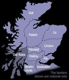 The ancient kingdoms of Scotland Scotland Map, Scotland History, England And Scotland, Scotland Travel, Scottish Gaelic, Scottish Highlands, Scottish Clans, Scottish Accent, Destinations