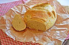 Dagasztás nélküli kenyér (lisztcserével)