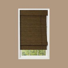Maple Providence Bamboo Roman Shade, 48 in. Length (Price Varies by Size)