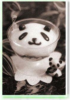 panda pannacotta