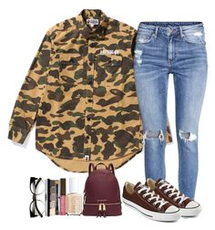 """Looking for revenge all summer sixteen.// Drake"" by winnesbooforever on Polyvore featuring Bobbi Brown Cosmetics, Burt's Bees, Essie, H&M, Michael Kors, Converse, women's clothing, women, female and woman"