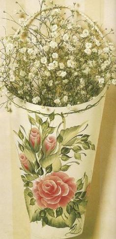 Donna Dewberry Roses of All Kinds One Stroke Tole Painting Craft Book - 4