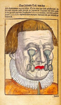 Jeepers Creepers: Surreal illustrations of witchcraft-caused eye diseases from the 16th century | Dangerous Minds