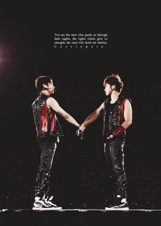Holding each other hands tightly till the end
